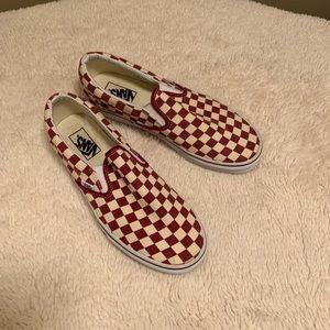 Vans Men's SZ 9 Checkered Shoes-New Cond